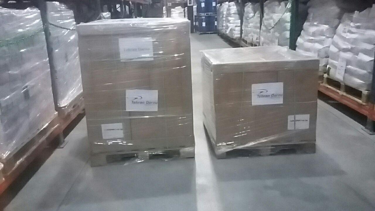 نخستین محموله دارویی تولید شرکت تهران دارو به سوریه صادر شد.
