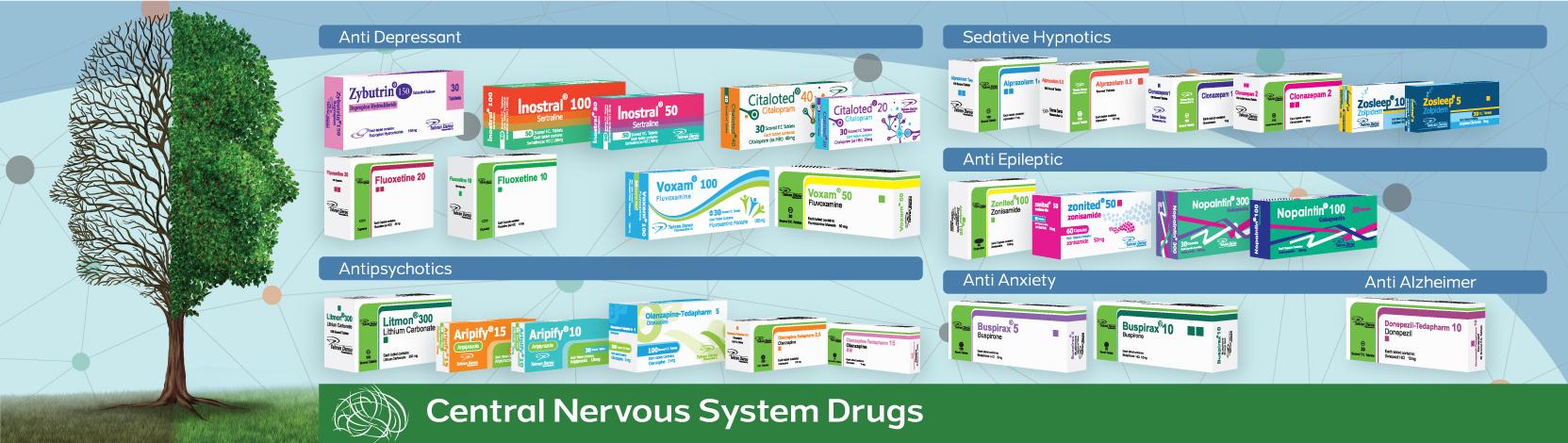 بنر داروهای اعصاب