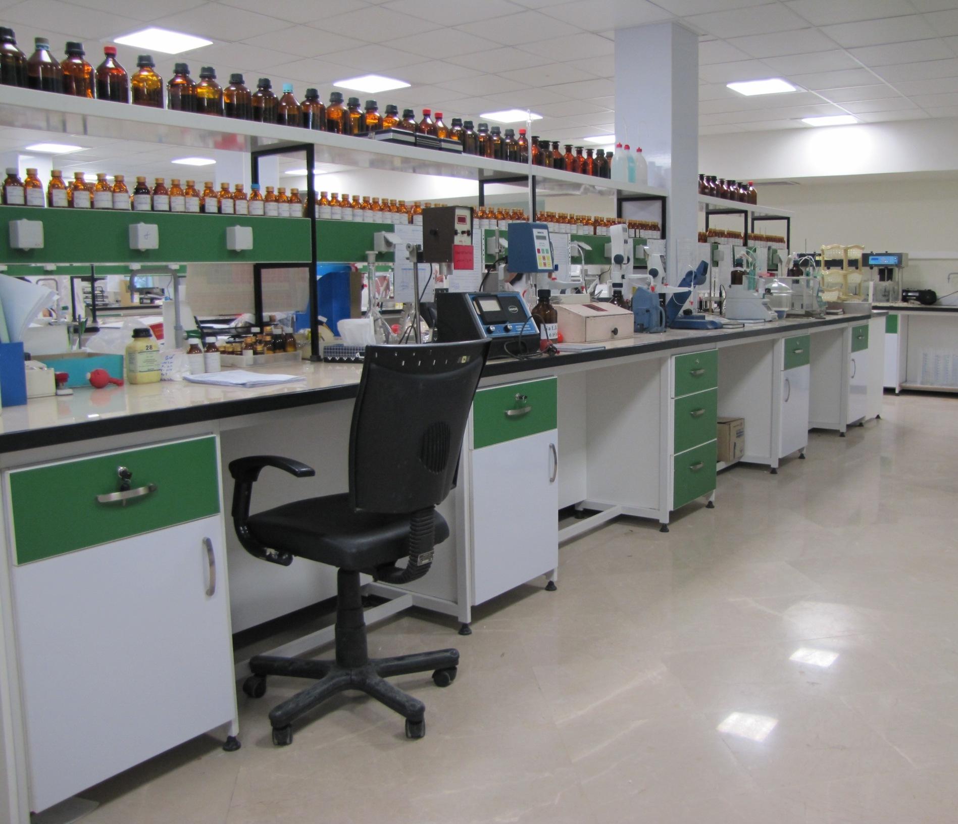 آزمایشگاه کنترل حین تولید
